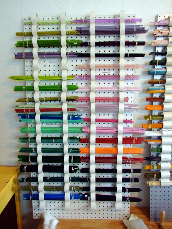 How to Build a Glass Storage Shelf