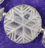 Snowflake Orrb Bead